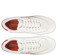 Q1905 Heren Sneaker Platinum - Wit/Oranje