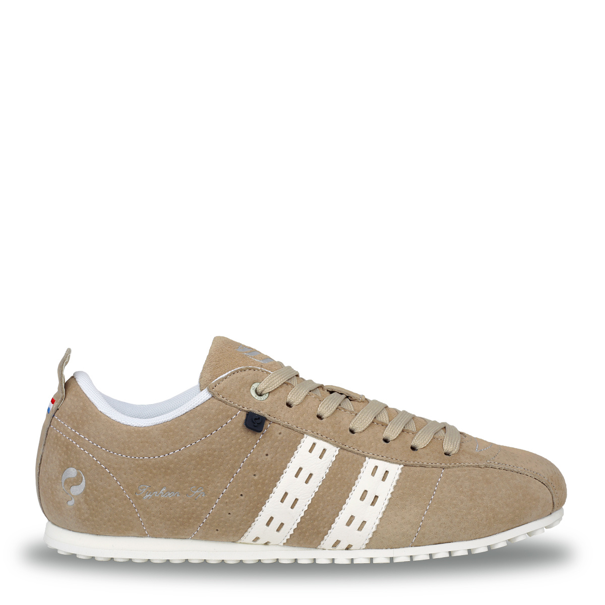 Heren Sneaker Typhoon SP - Taupe/Wit