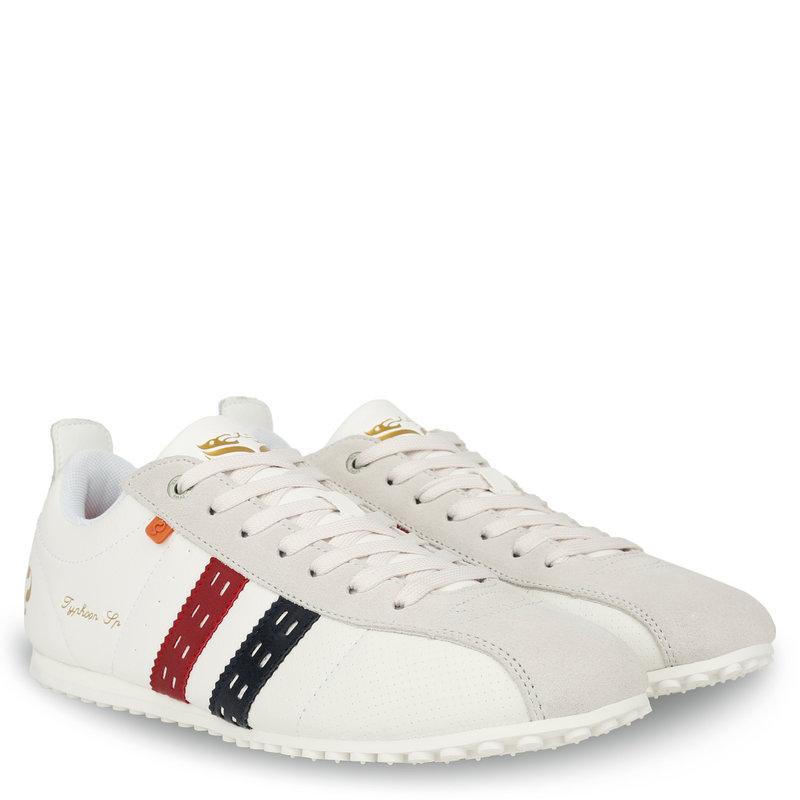 Q1905 Men's Sneaker Typhoon SP - White/Red-Blue