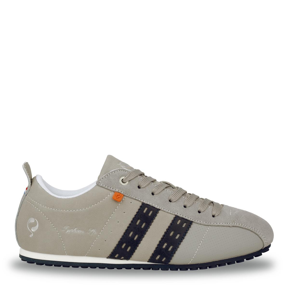 Heren Sneaker Typhoon SP - Lichtgrijs/Donkerblauw