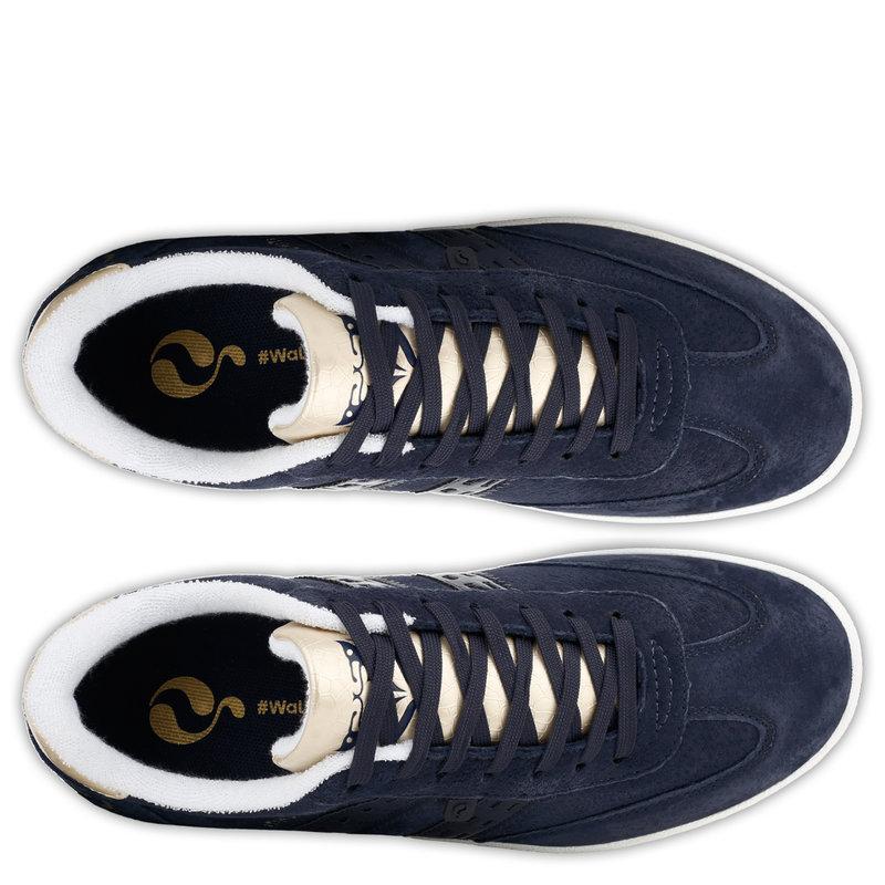 Q1905 Women's Sneaker Platinum - Dark Blue