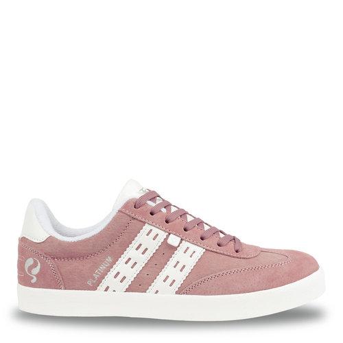 Dames Sneaker Platinum - Oud Roze/Wit