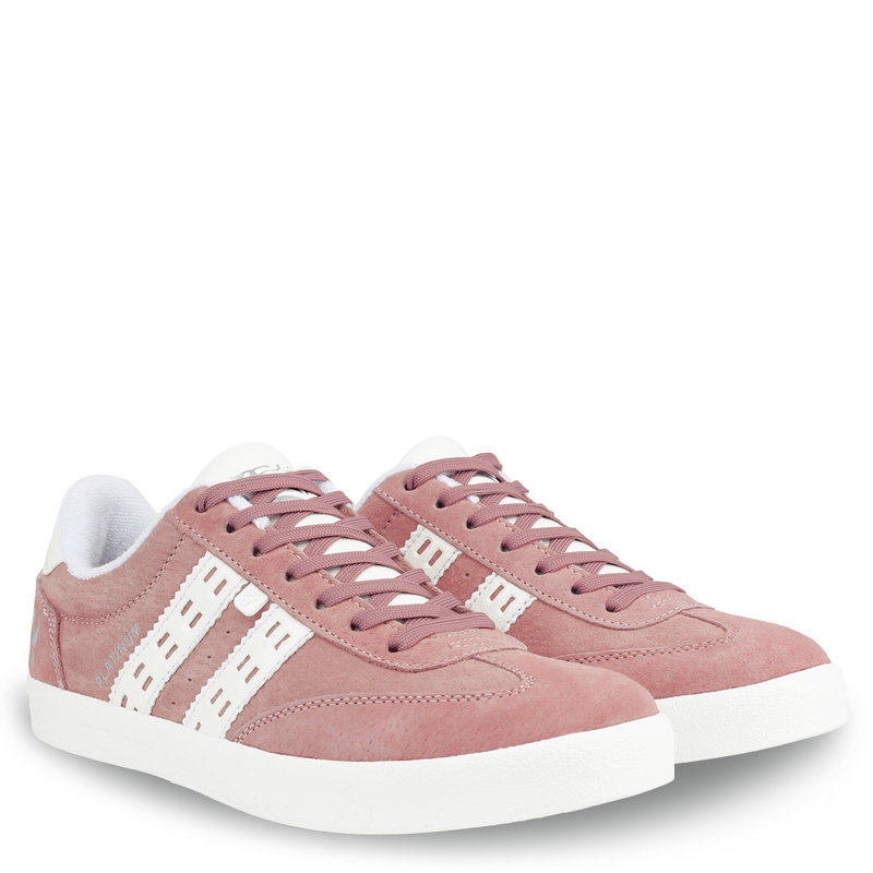 Q1905 Women's Sneaker Platinum - Old Pink/White