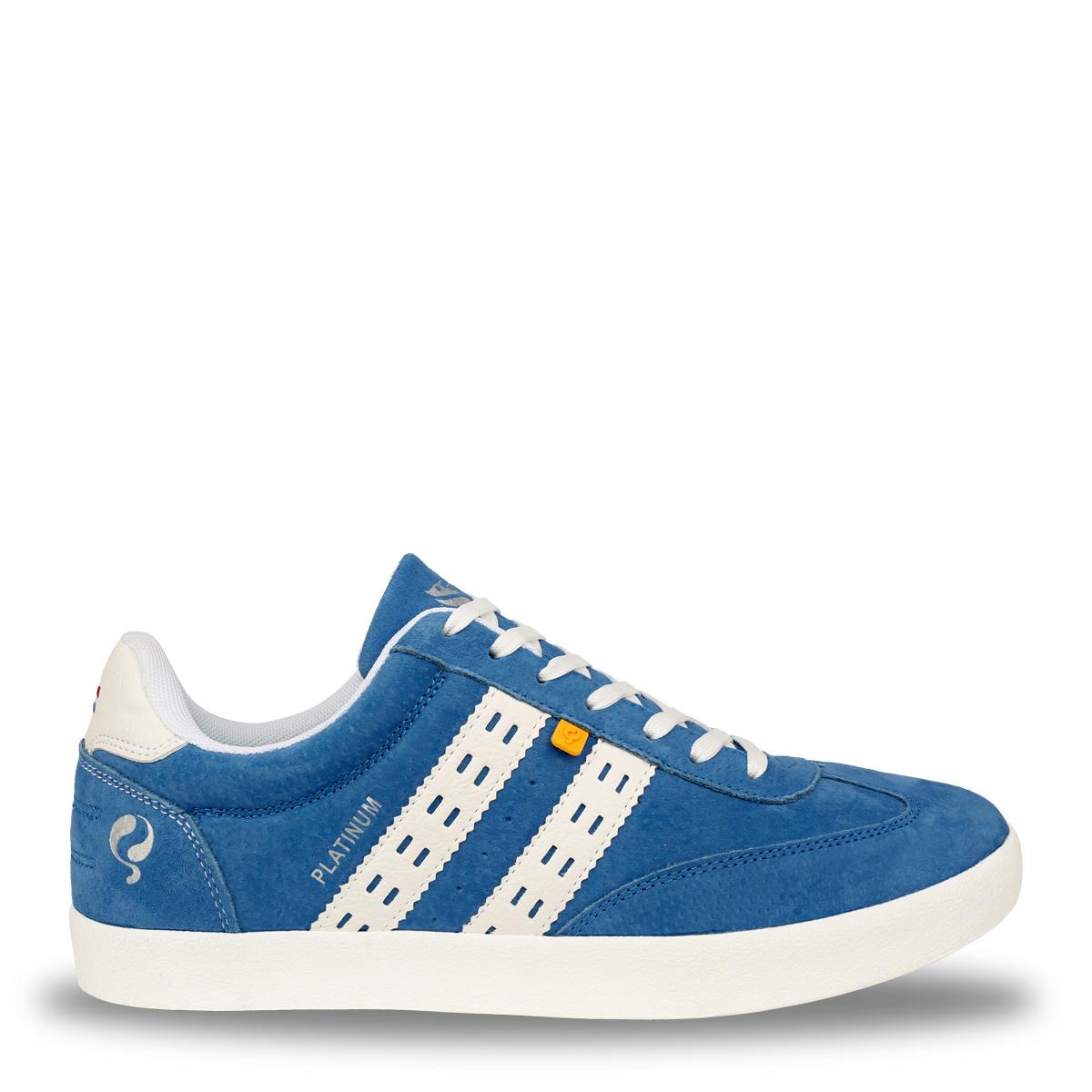 Heren Sneaker Platinum - Koningsblauw/Wit