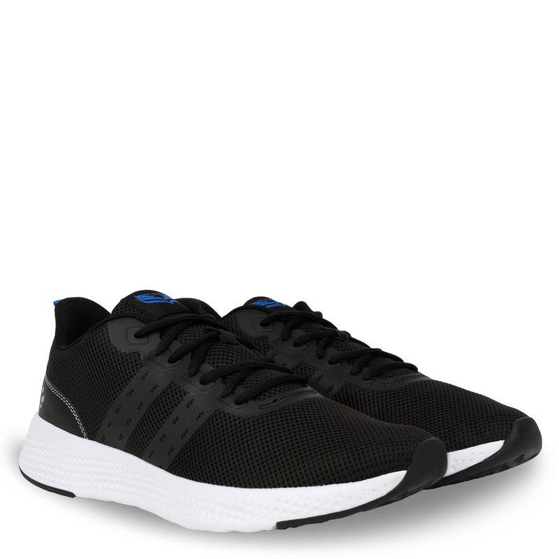 Q1905 Heren Sneaker Oostduin - Zwart/Wit/Koningsblauw