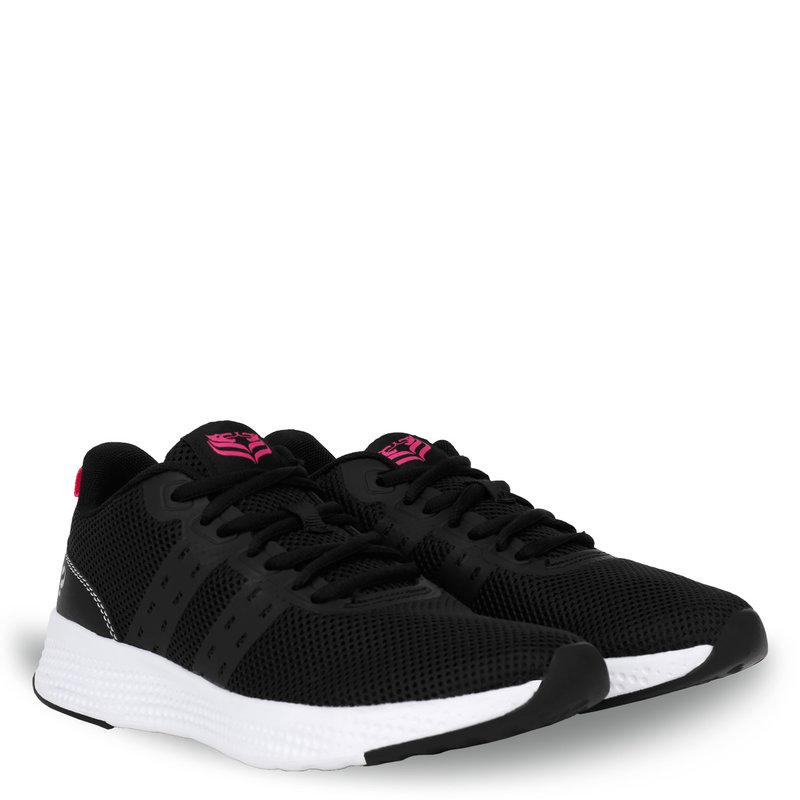 Q1905 Dames Sneaker Oostduin - Zwart/Neon Roze