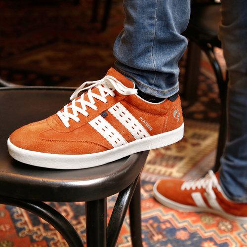 Heren Sneaker Platinum - Oranje/Wit