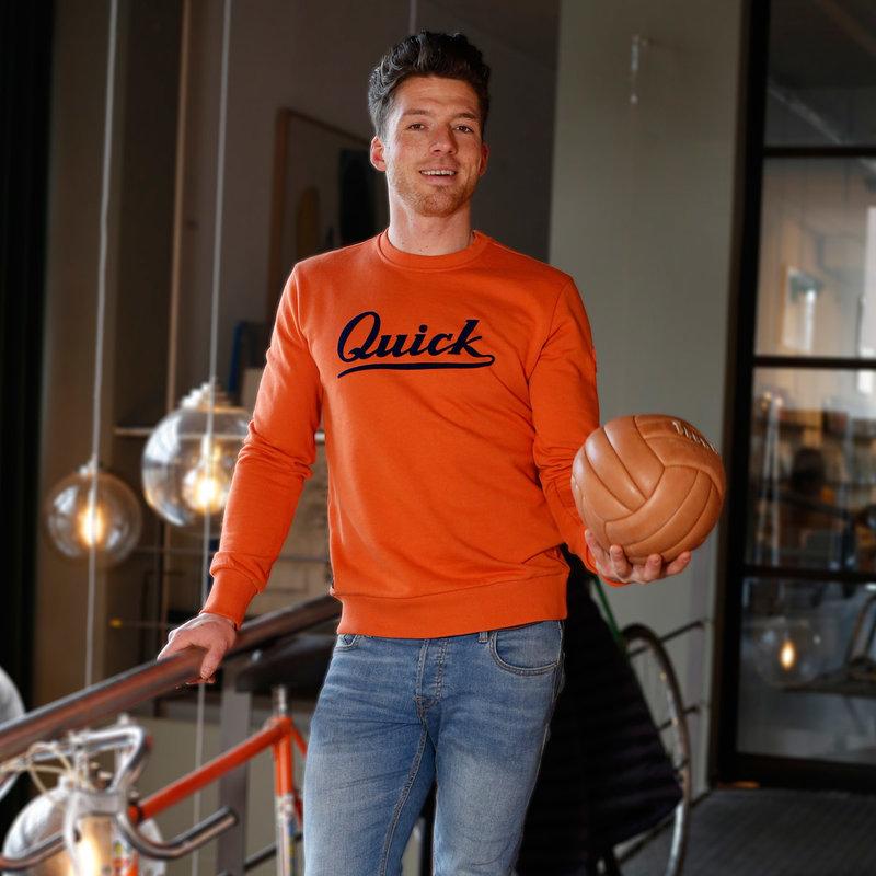 Q1905 Heren Trui Zaandijk - Roest Oranje