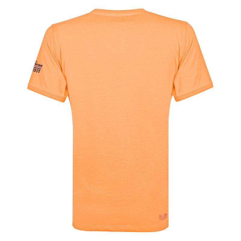 Q1905 Heren T-shirt Zandvoort - Abrikoos
