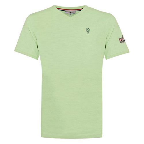 Heren T-shirt Zandvoort - Zachtgroen