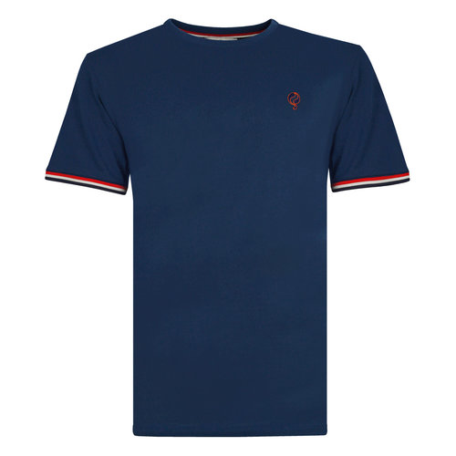 Men's T-shirt Katwijk - Marine Blue