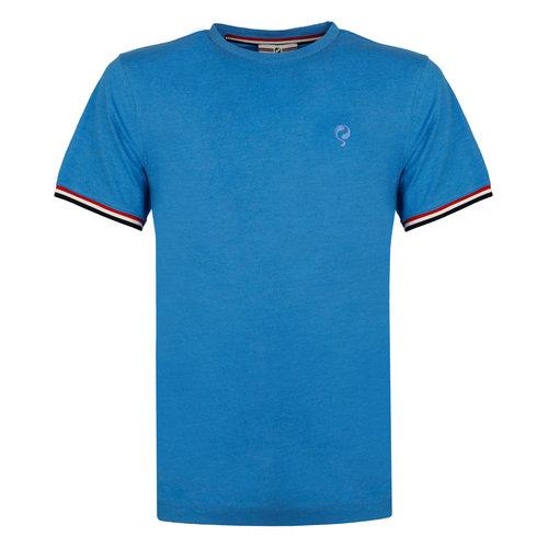 Heren T-shirt Katwijk - Kobaltblauw