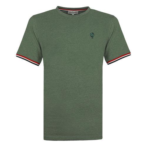Men's T-shirt Katwijk - Oase Green