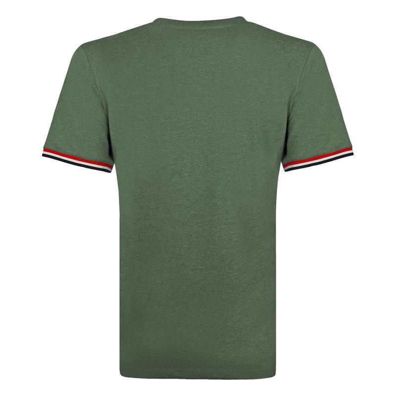 Q1905 Men's T-shirt Katwijk - Oase Green