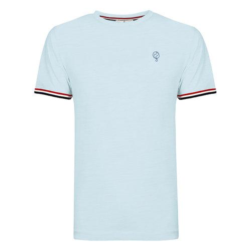 Heren T-shirt Katwijk - Lichtblauw