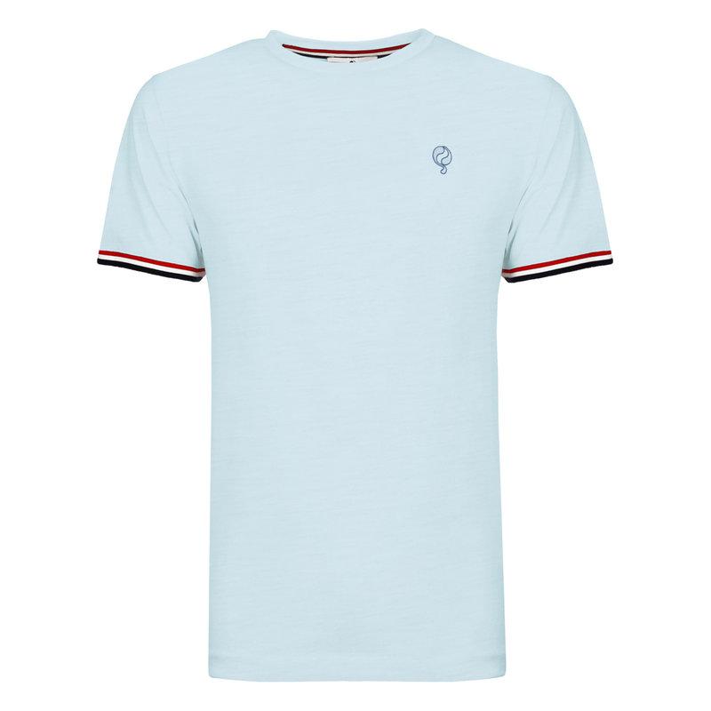 Q1905 Men's T-shirt Katwijk - Light Blue