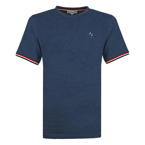 Heren T-shirt Katwijk - Poederblauw