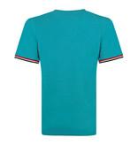 Q1905 Men's T-shirt Katwijk - Aqua Blue