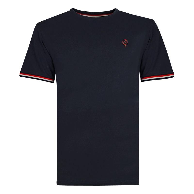 Q1905 Men's T-shirt Katwijk - Dark Blue