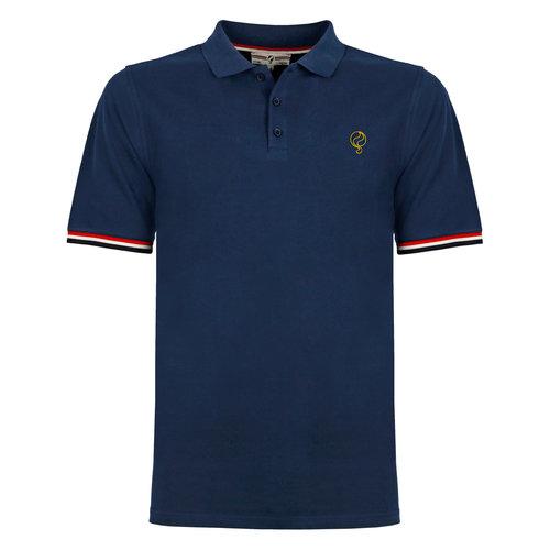 Heren Polo Bloemendaal - Marine Blauw