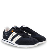 Q1905 Heren Sneaker Cycloon - Donkerblauw/Wit