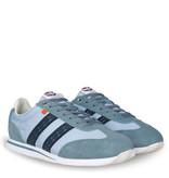 Q1905 Men's Sneaker Platinum - Light Blue/ Dark Blue