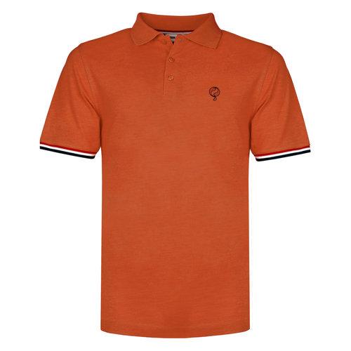Men's Polo Bloemendaal - Rust Orange