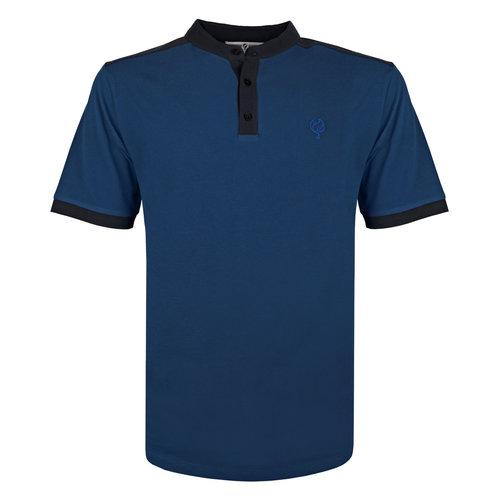 Heren Polo Santpoort - Marine Blauw/Donkerblauw