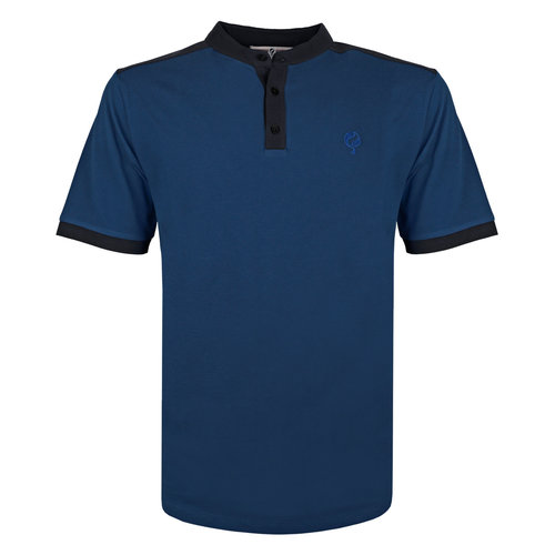 Men's Polo Santpoort - Marine Blue/Dark Blue