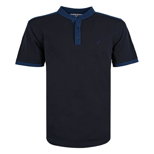 Heren Polo Santpoort - Donkerblauw/Marine Blauw
