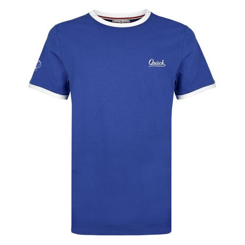 Heren T-shirt Captain - Hard Blauw/Wit