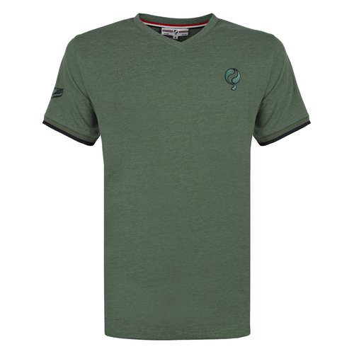 Men's T-shirt Egmond - Oase Green
