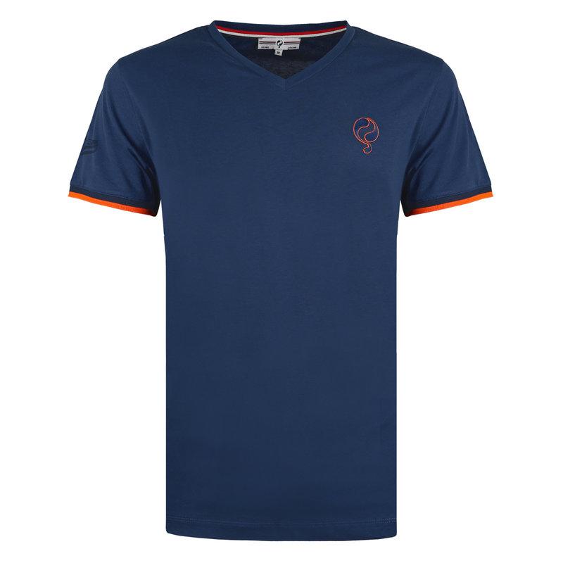 Q1905 Heren T-shirt Egmond - Marine Blauw