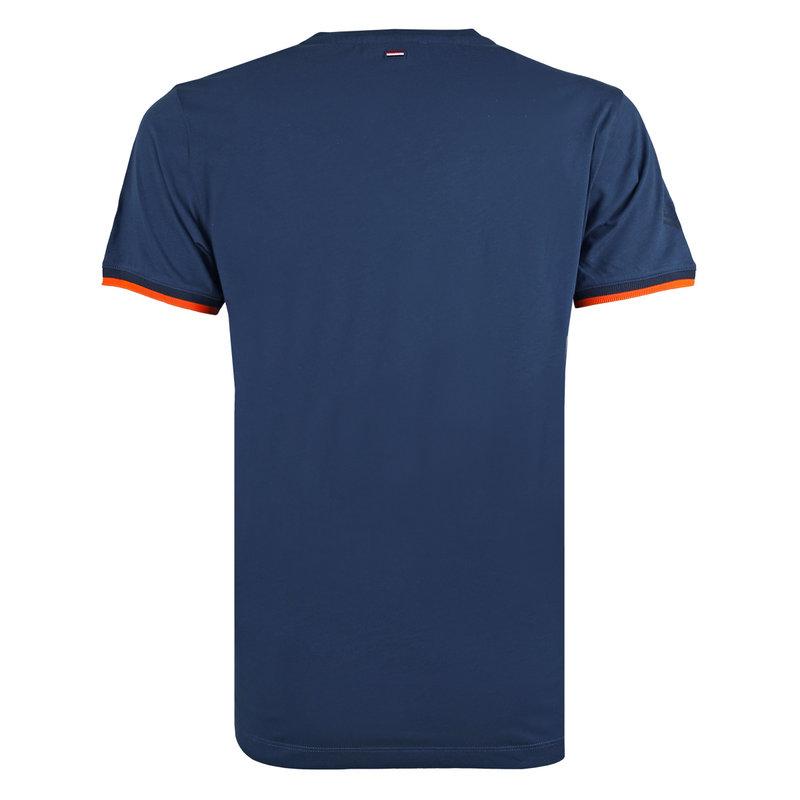 Q1905 Men's T-shirt Egmond - Marine Blue