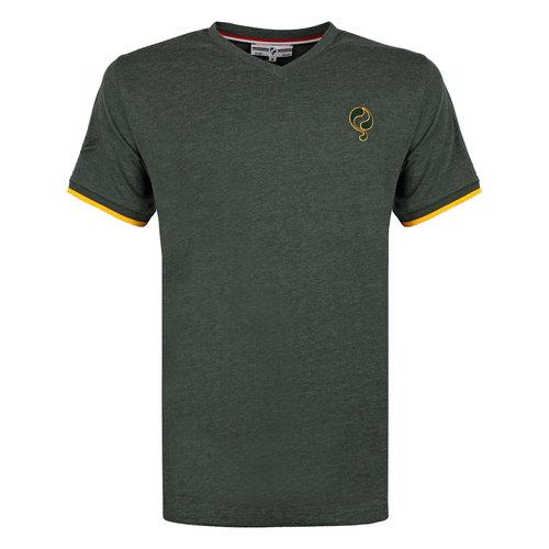 Heren T-shirt Egmond - Donkergroen