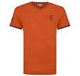 Q1905 Heren T-shirt Egmond - Roest Oranje