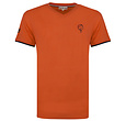 Q1905 Men's T-shirt Egmond - Rust Orange