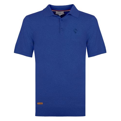 Heren Polo Zoutelande - Koningsblauw
