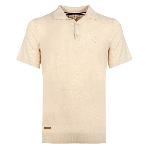 Men's Polo Zoutelande - Light Beige