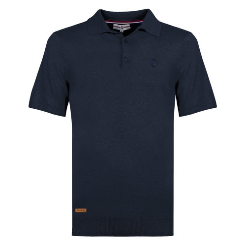 Men's Polo Zoutelande - Denim Blue