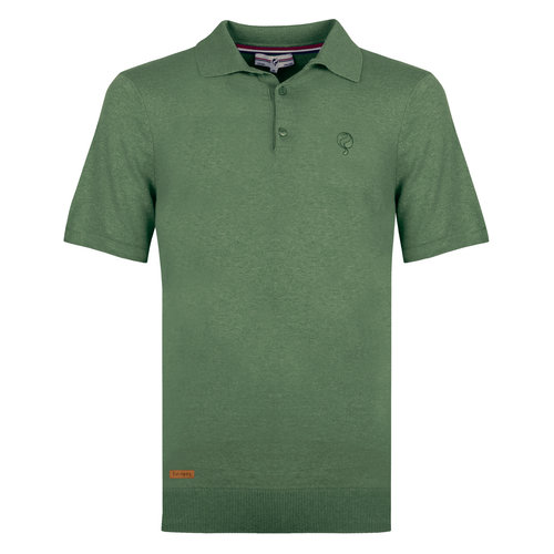 Men's Polo Zoutelande - Oase Green