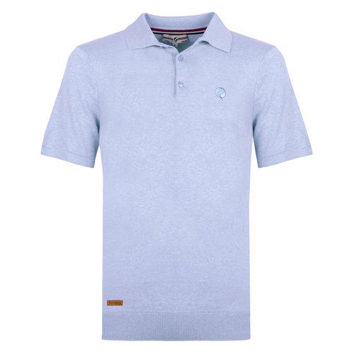 Men's Polo Zoutelande - Light Blue