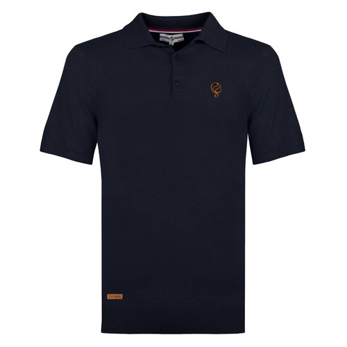 Men's Polo Zoutelande - Dark Blue