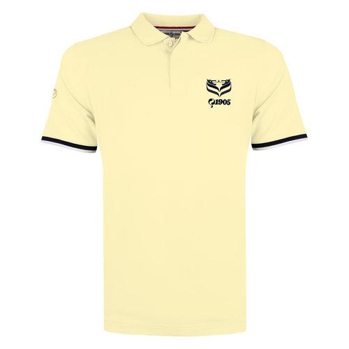 Men's Polo Zomerland - Pastel Yellow