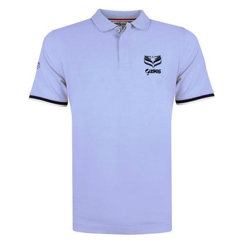 Men's Polo Zomerland - Lila Blue