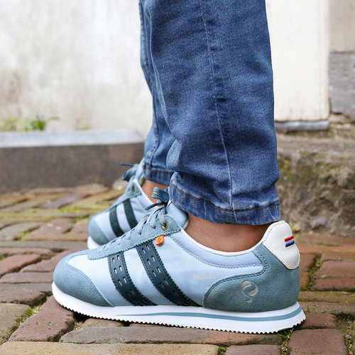 Men's Sneaker Platinum - Light Blue/ Dark Blue