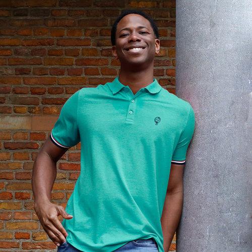 Men's Polo Bloemendaal - Mint Green