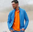 Q1905 Men's Vest Amerongen - Kobalt Blue