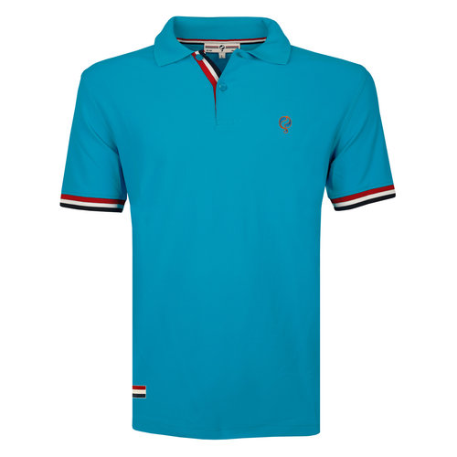 Men's Polo Matchplay - Dark Turquoise