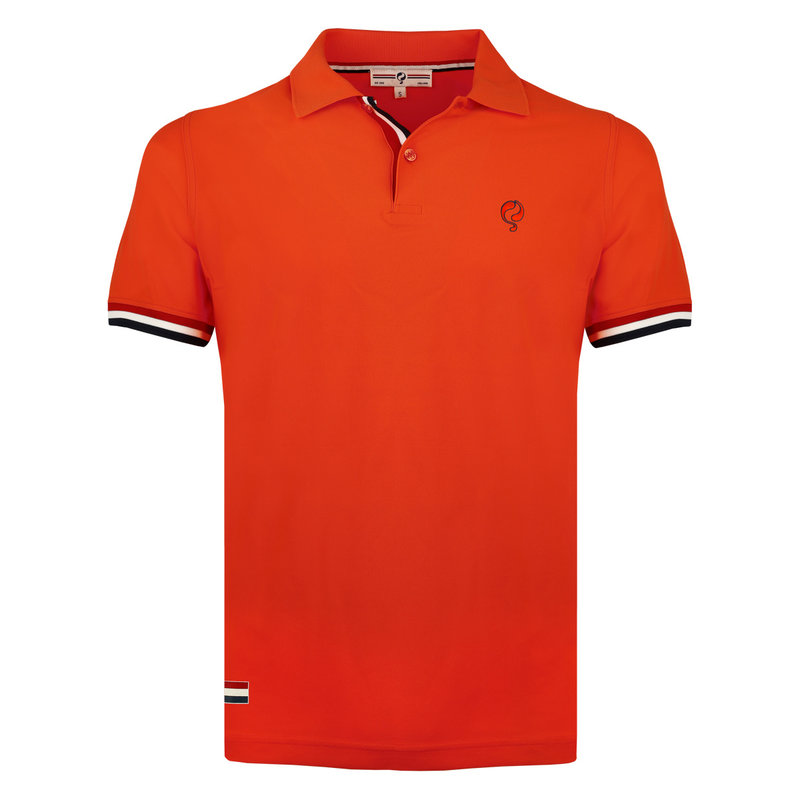 Q1905 Men's Polo Matchplay - Orange Red